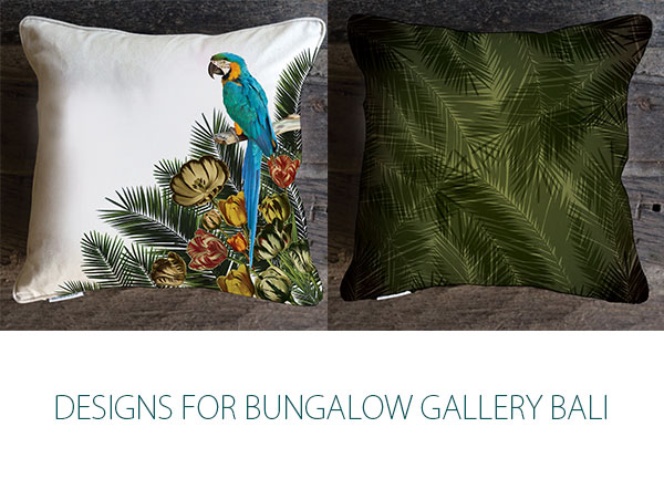 Bungalow interiors Bali 2014